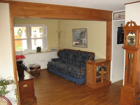 1970's suburban conversion to Bungelow style in Cherry | Living Room