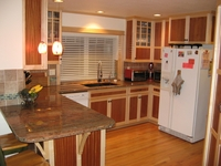 Turner  Maple / Makore Craftsman Kitchen